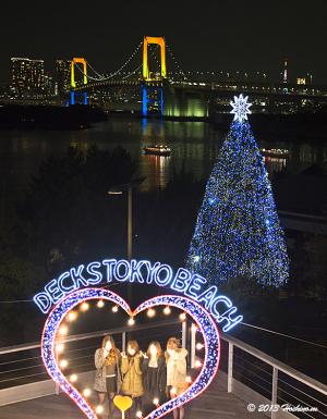 デックス東京ビーチ・台場メモリアルツリー2013