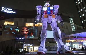 ガンダム立像ライトアップ 『GUNDAM STAND at Jaburo』
