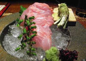 和食 えん 汐留店 金目鯛のお造り