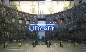 ドックヤード・プロジェクションマッピング YOKOHAMA ODYSSEY