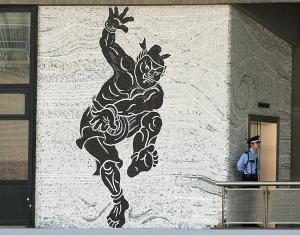 国立競技場 野見宿禰 壁画
