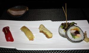 NINJYA AKASAKA(忍者 赤坂)特選握り寿司とロール寿司