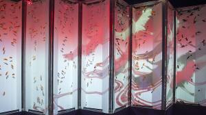 アートアクアリウム2014《ビョウブリウムⅡ》