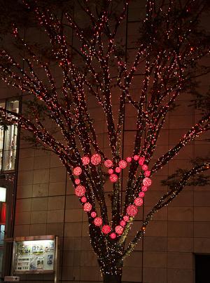 六本木ヒルズけやき坂イルミネーション2014