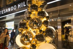 表参道ヒルズクリスマスイルミネーション2014「OMOTESANDO HILLS CHRISTMAS 2014 with Moet & Chandon」