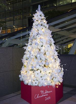 MIDTOWN CHRISTMAS(ミッドタウン・クリスマス)2014  Welcome Tree