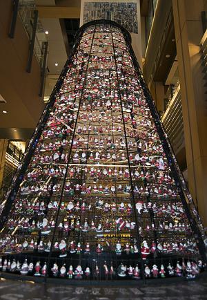 MIDTOWN CHRISTMAS(ミッドタウン・クリスマス)2014  Santa Tree