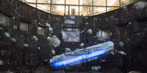 ドックヤード・プロジェクションマッピング「STAR  WARS 果てしなき銀河の旅」