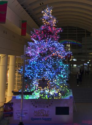 クイーンズスクエア横浜 ミラクル☆ツリー