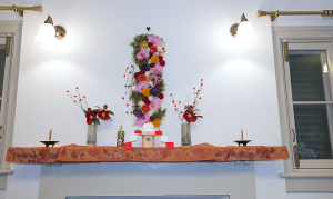 山手234番館のお正月飾り