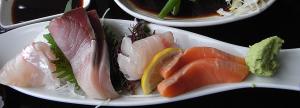 「えぼし」の日替わり小鉢膳 刺身