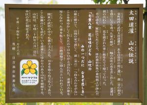 太田道灌 山吹伝説