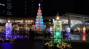 ラゾーナ川崎プラザ クリスマスイルミネーション2015