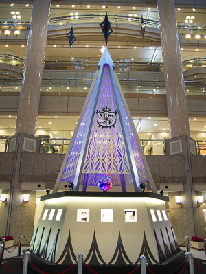 横浜ランドマークプラザのクリスマスツリー