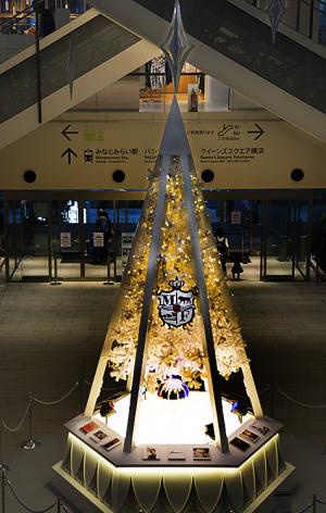 MARK IS みなとみらい・福山雅治のクリスマスツリー