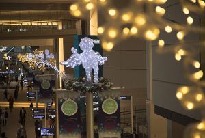 クイーンズスクエアのクリスマス