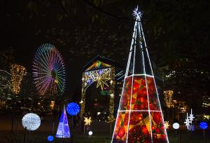 ファンタスティッククリスマス2015 運河パーク