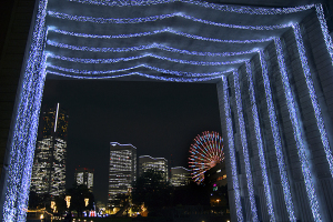 横浜ワールドポーターズ ファンタスティッククリスマス2015 ナビオス横浜