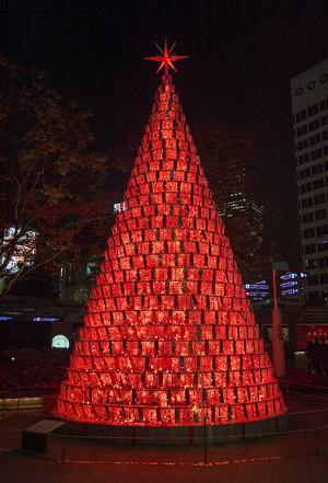 66プラザ クリスマスツリー