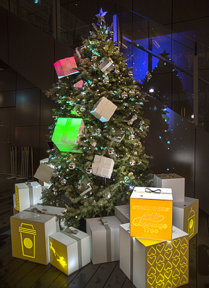 Starbucks eGift Message Tree