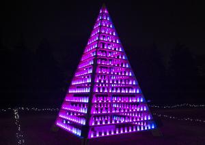 国営昭和記念公園「Winter Vista Illumination 2015」あったかゾーン