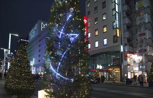 GINZA ILLUMINATION ヒカリミチ2015~樹がつなぐ未来~
