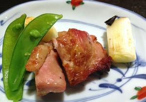 鳥取県産大山鶏の昆布塩焼き