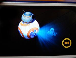 BB-8のホログラム