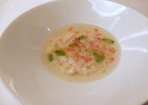 野菜のスープご飯