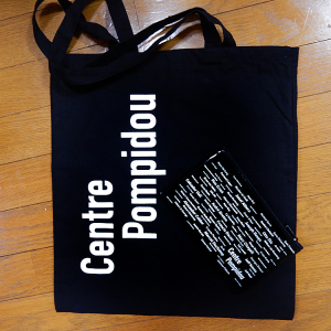 Centre Pompidouのトートバッグとポーチ