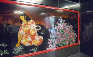 目黒雅叙園・再現化粧室