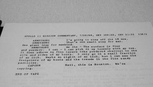 アポロ11号任務記録