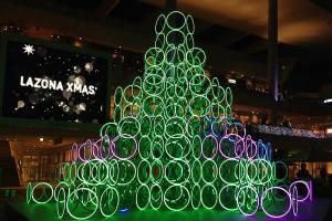 ラゾーナ川崎プラザ 音が奏でるクリスマス