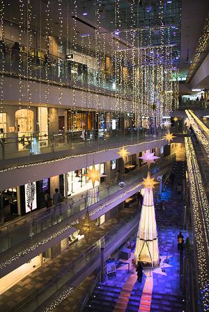 OMOTESANDO HILLS CHRISTMAS 2016 with Panasonic Beauty