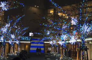 クイーンズスクエア横浜イルミネーション