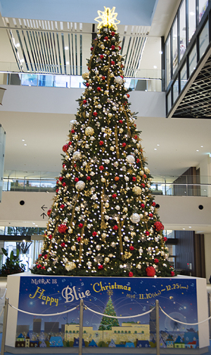 マークイズみなとみらいのクリスマスツリー