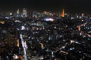 恵比寿ガーデンプレイスタワー38階より