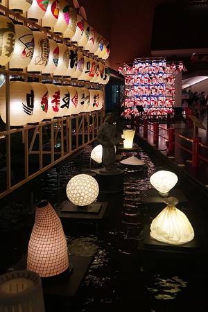 「和のあかり×百段階段展2017」~日本の色彩 日本の意匠~
