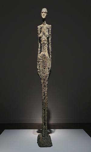 ジャコメッティ展 大きな女性立像 II (Large Standing Woman II)