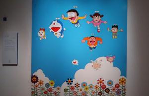 村上隆「ぼくと弟とドラえもんとの夏休み」