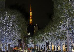 六本木ヒルズ けやき坂イルミネーション 2017