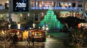 ラゾーナ川崎のクリスマスマーケット