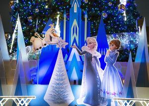 アナと雪の女王のクリスマスツリー