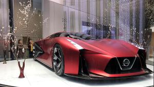 NISSAN CONCEPT 2020 Vision Gran Turismo Fire Knight