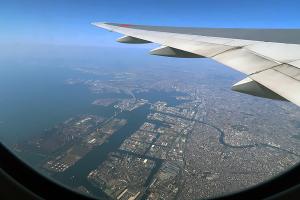 横浜港空撮