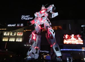 The Life-Sized Unicorn Gundam Statue Ver. TWC