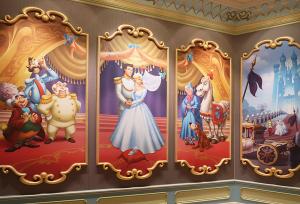 シンデレラのフェアリーテイル・ホール(Cinderella's Fairy Tale Hall)」