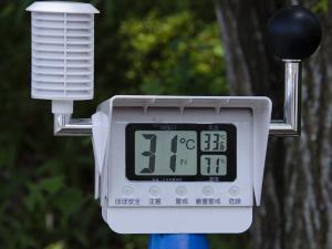 熱中症暑さ指数計