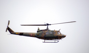 陸上自衛隊ヘリコプター UH-1J 機体記号41873