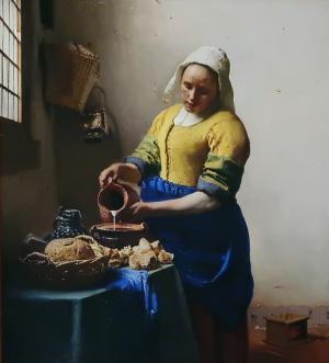 ヨハネス・フェルメール 牛乳を注ぐ女